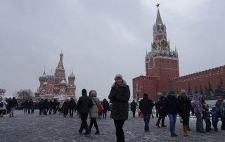 Rusland, de favoriete bestemming van collega Laura - kremlin