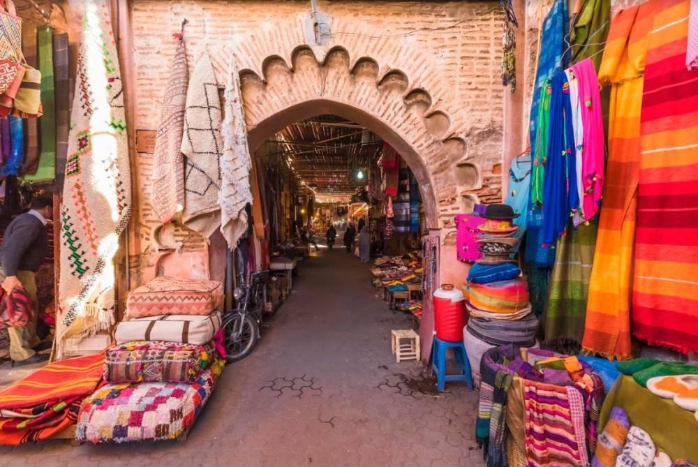 City-trip stylé à Marrakech - Souk à Marrakech