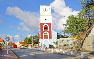 Winterzon op Aruba - Willem III Toren - Fort Zouman