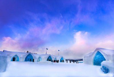 Ijzige wintertrip naar Canada - Overnacht in een magisch ijshotel