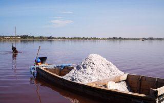 Rondreis Senegal - Lac Rose