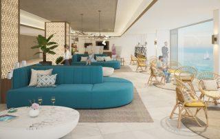De SpaanPalladium Hotel Costa del Sol - lounge