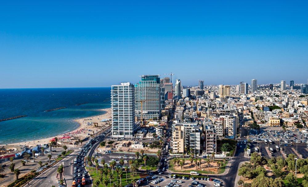 Rondreis Israël - pano van Tel Aviv