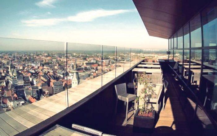 Hotel Radisson Blu Hasselt - panoramisch uitzicht
