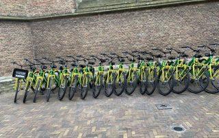 Inspiratiereis Den Haag van collega Ines - fietsen - Den Haag
