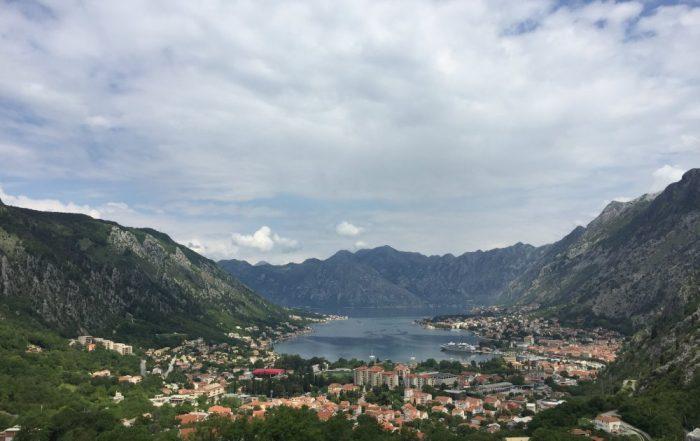 Inspiratiereis Montenegro en Dubrovnik van collega Katrien - baai van Kotor