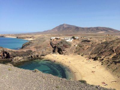 Lanzarote, de favoriete bestemming van collega Kaat - Lanzarote - Papagayo - Playa Blanca