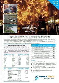 Last Minutes en Promoties - Cruises - Cruise Selection - 3-daagse kerstmarkten aan de Rijn