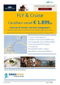 Last Minutes en Promoties - Cruises - Oceania Cruises - Fly & Cruise Caraïben