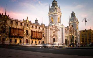 Rondreis Peru - Plaza de Armas - Lima