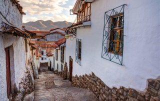 Cusco - oude steegjes
