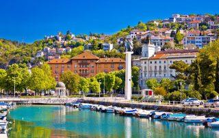 8-daagse schoolreis Kroatië en Slovenië - Rijeka - Kvarner baai