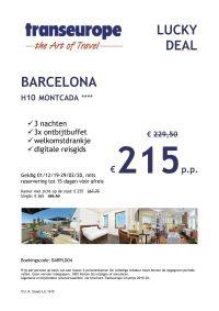 Last Minutes en Promoties - Transeurope - Barcelona