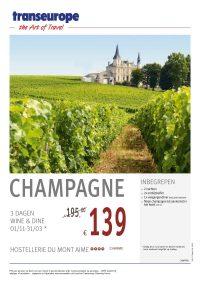 Last Minutes en Promoties - Transeurope - Champagne