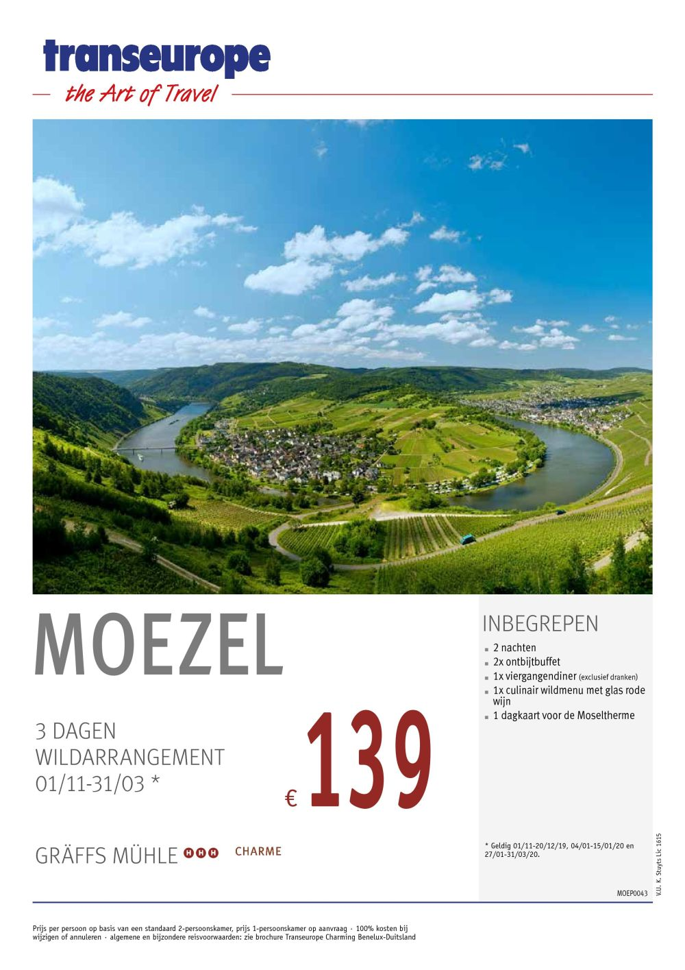 Last Minutes en Promoties - Transeurope - Moezel