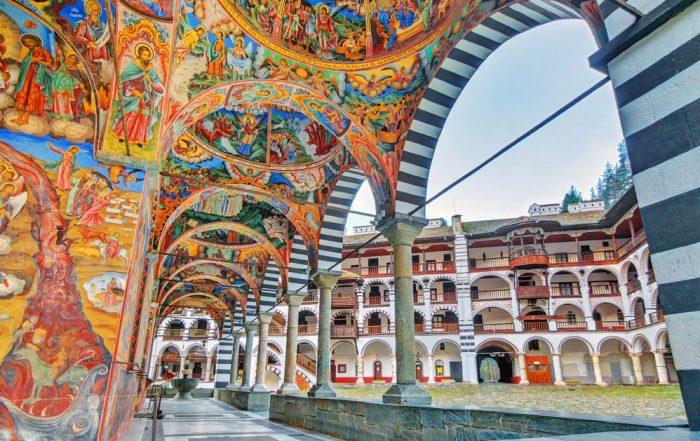 Orthodox klooster van Rila - Bulgarije