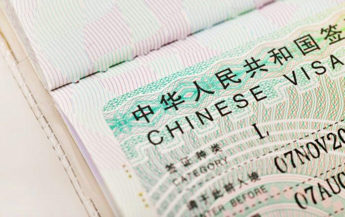 Vernieuwde visumprocedure China