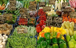 Vienna Naschmarkt food market