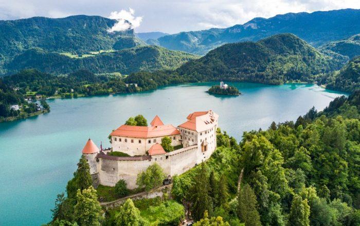 Schoolreis langs de Adriatische Zee - Bled