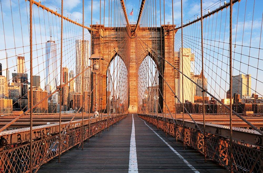 Citytrip New York - Brooklyn Bridge - Manhattan