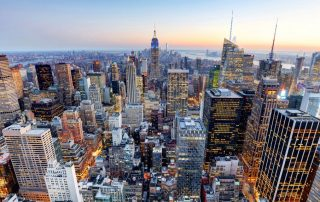 Manhattan skyline - New York City