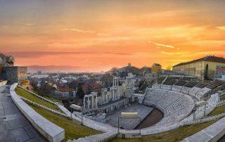 Amfitheater in Plovdiv