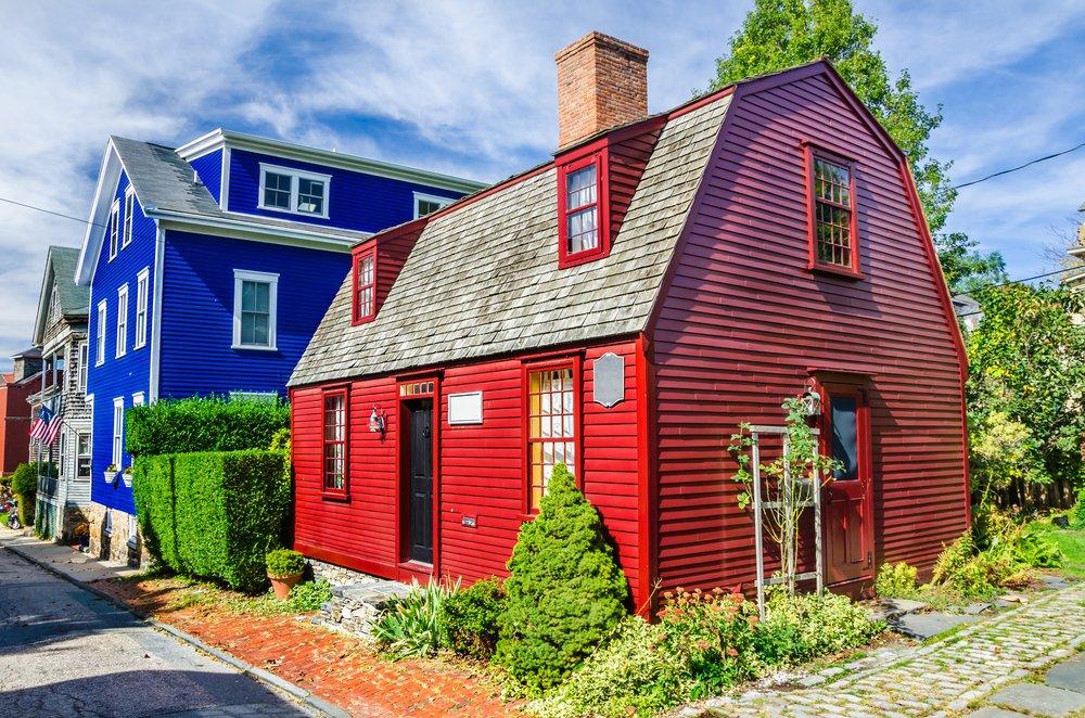 Rondreis Oost-VS - Historische kleurrijke houten huizen - Newport