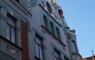 Tallinn - oude stad - gevel