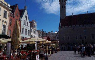 Tallinn - oude stad - stadhuis