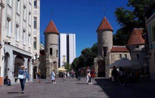 Inspiratiereis Tallinn en Riga - Tallinn - oude stad - stadsmuren