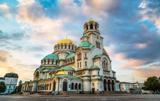 Bulgarije - Alexander Nevsky Cathedral in the center of Sofia