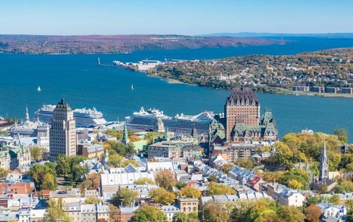 Met Mia Doornaert op cruise van Montréal naar Saint-Pierre-et-Miquelon