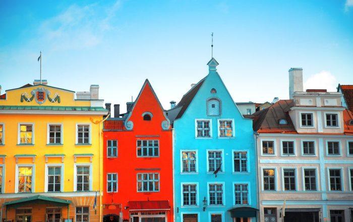 Combitrip Tallinn en Riga - Tallinn - stadhuisplein