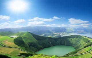 Azoren - krater