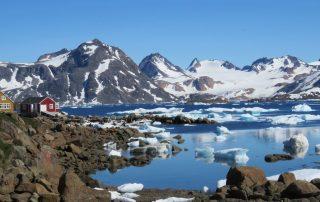 Groenlandse ijsberg