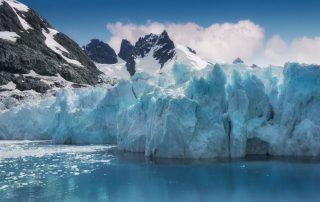 Zuid-Georgie - gletsjer