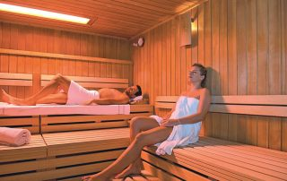 Victor's Residenz-Hotel Schloss Berg - sauna