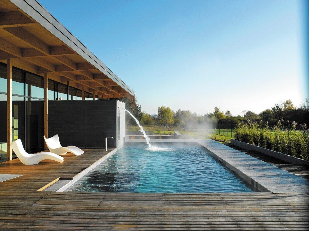 Herbronnen in de Elzas - Hôtel La Source des Sens - zwembad - ©Transeurope