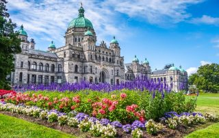 Rondreis West-Canada - Parlement - Victoria