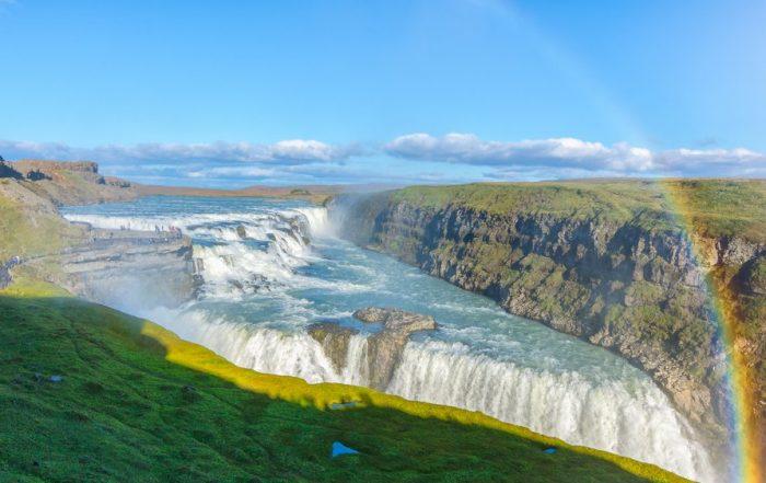 Rondreis Ijsland - Gullfoss - Gouden waterval