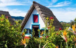 Rondreis Madeira - Traditional huizen - Santana
