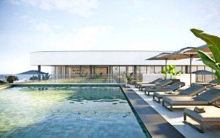 zwembad rooftop