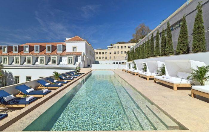 The One Lisbon - Palacio Anunciada - zwembad