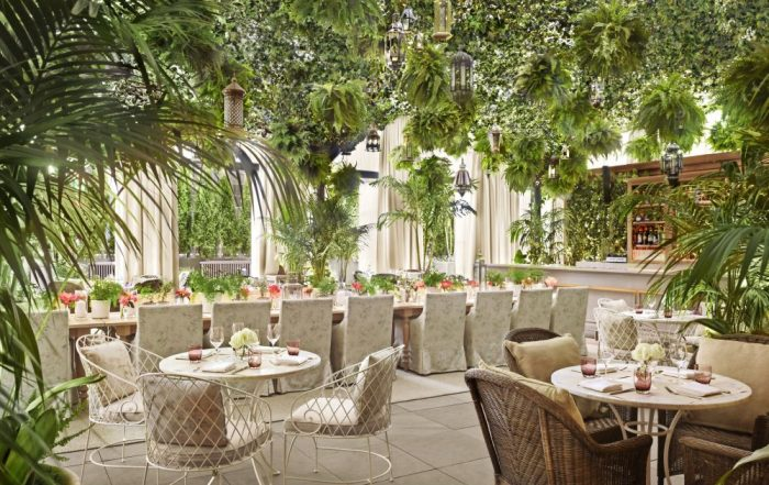 New York - Times Square EDITION - Dining Garden