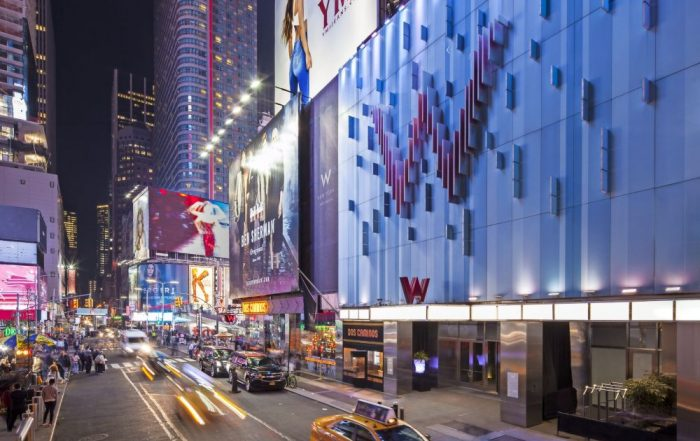 W New York Times Square - Exterieur