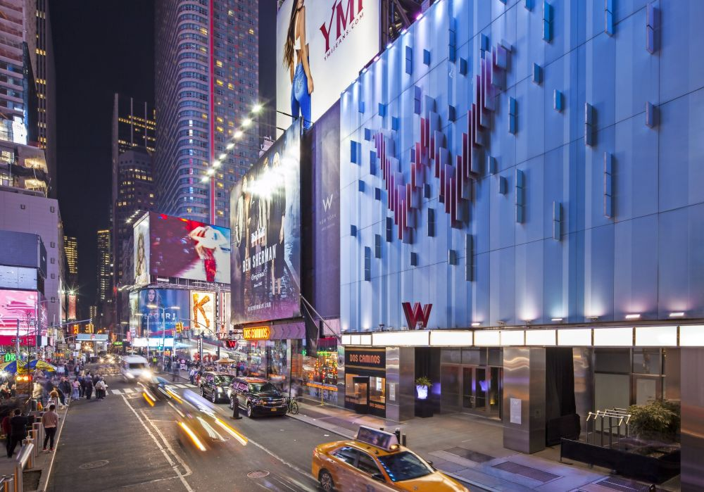 New York - W Times Square - Exterieur