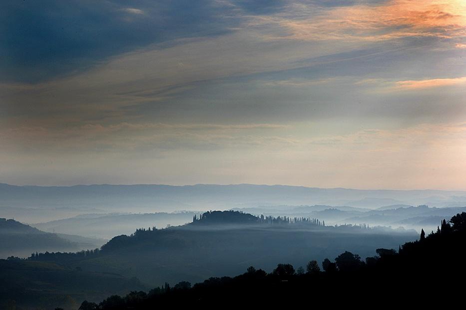 Toscane - postkaartwegen