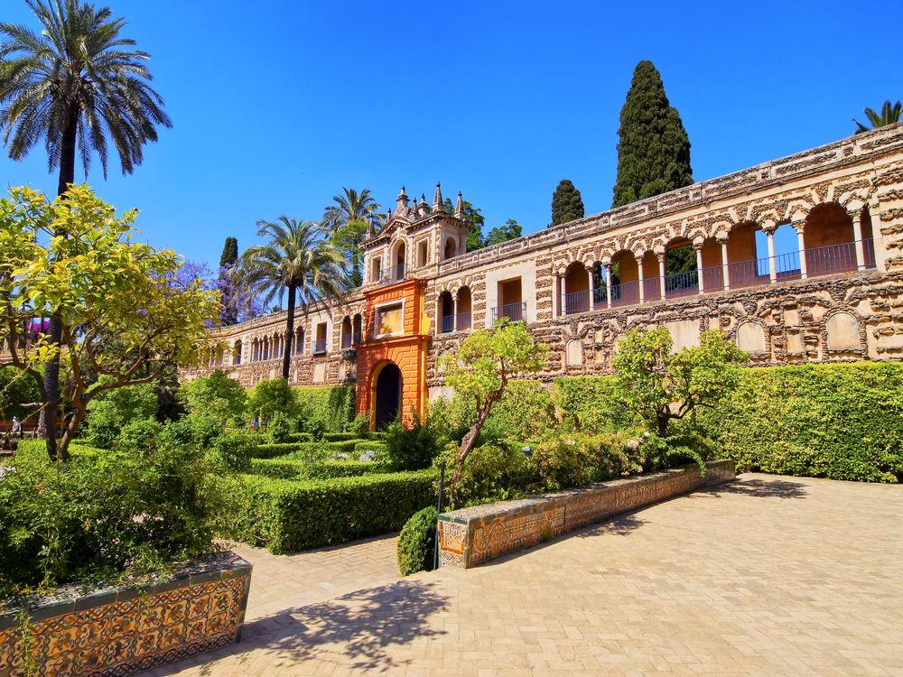 Rondreis Andalusië - Tuinen van Real Alcazar - Sevilla