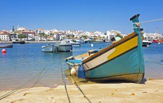 Rondreis Zuid-Portugal - zicht op Lagos
