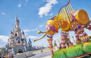 The Lion King & Jungle festival - Disney parade
